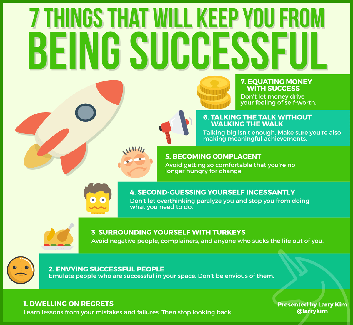 things that hold you back from success