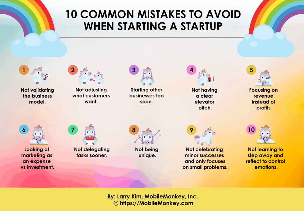 10 Common Mistakes to Avoid When Starting a Startup