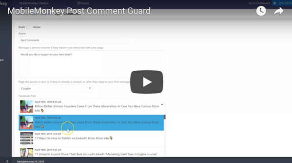 post comment guard video tutorial