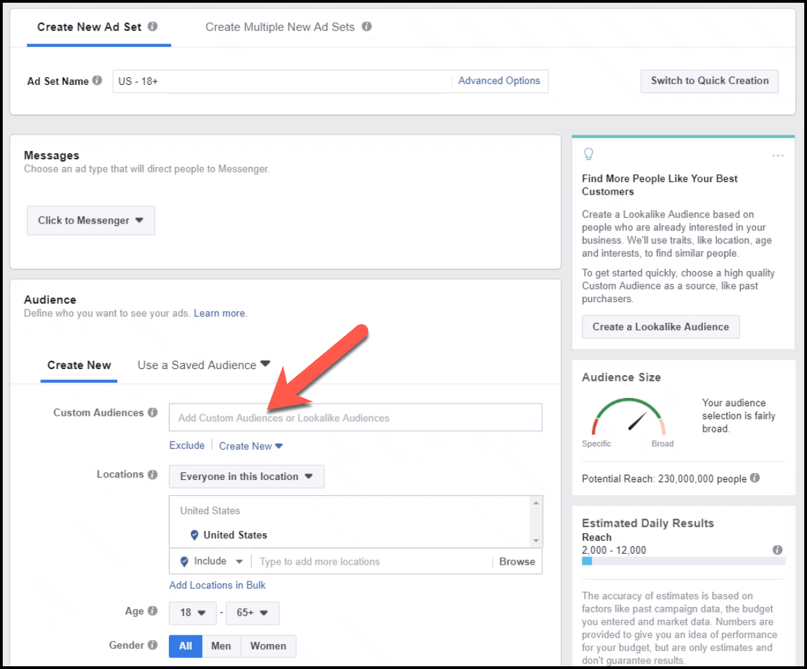 add-custom-audience-to-messages-ad