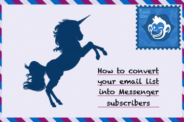 convert email list into messenger subscriber