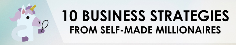 FEATURED 10 Business Strategies From Self-Made Millionaires