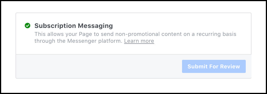 subscription-messaging-approved