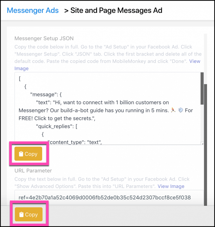 copy-code-for-messenger-ads