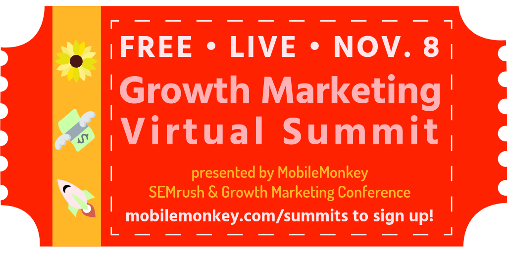 Global Growth Marketing Virtual Summit ticket