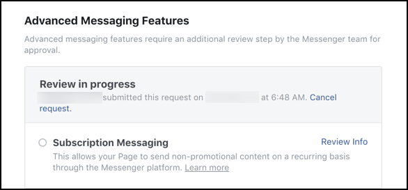 subscription-messaging-request-review-in-progress