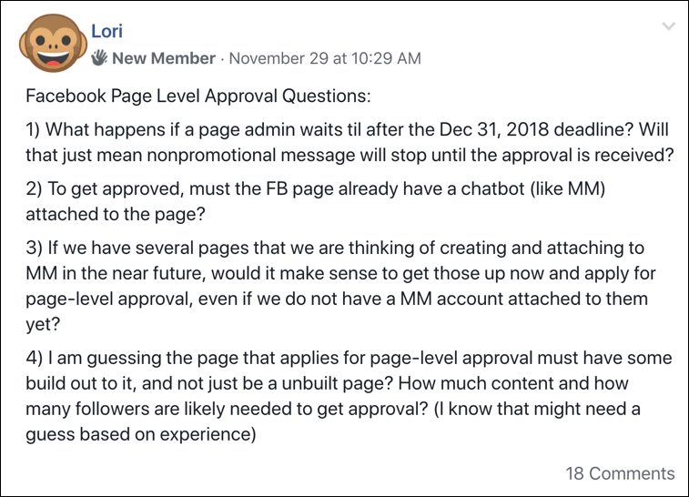 facebook-page-level-approval-question-subscription-messaging