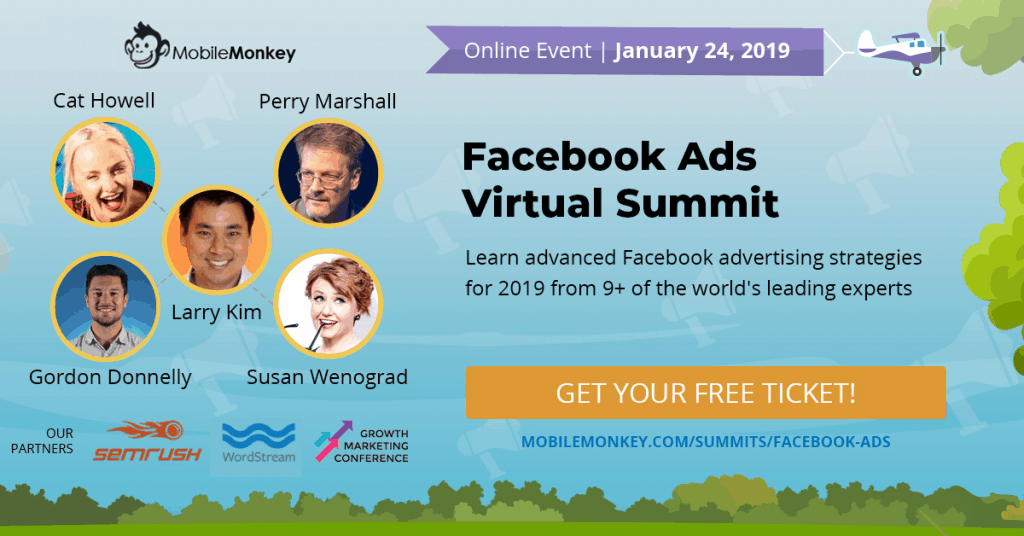 2019 Facebook Ads Virtual Summit Graphic