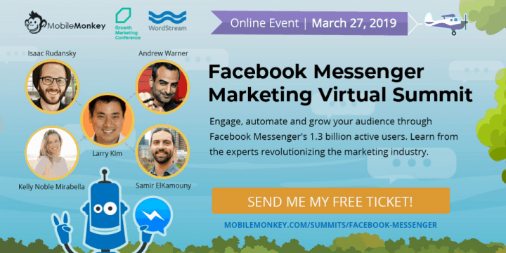 facebook messenger marketing summit mobilemonkey