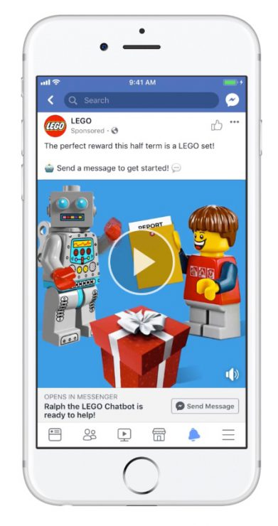 Lego Chatbot Example