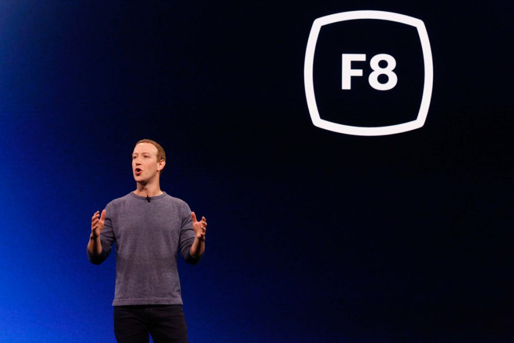 Facebook Messenger Marketing at Facebook Developer Conference F8