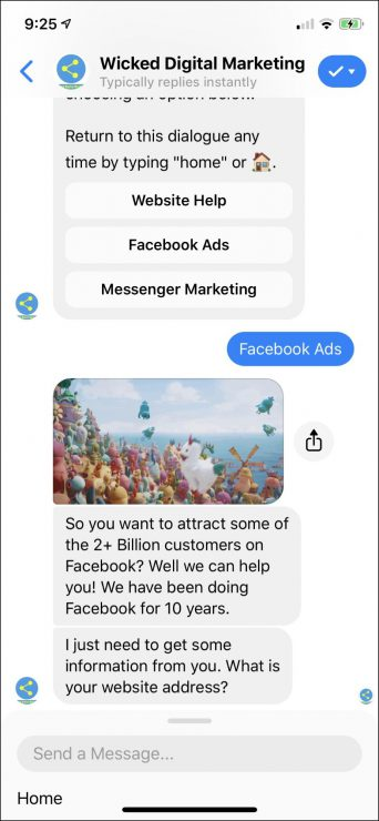 chatbot marketing for agencies