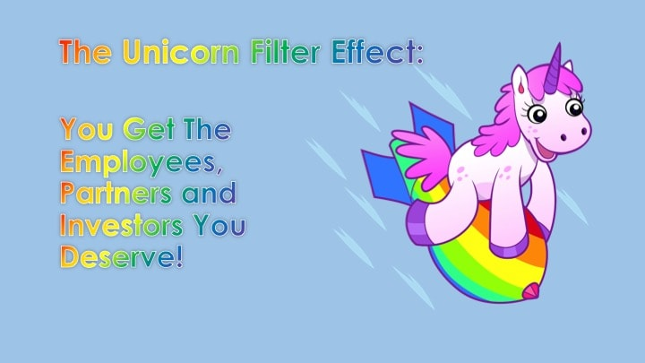 scale a marketing agency - unicorn filter effect
