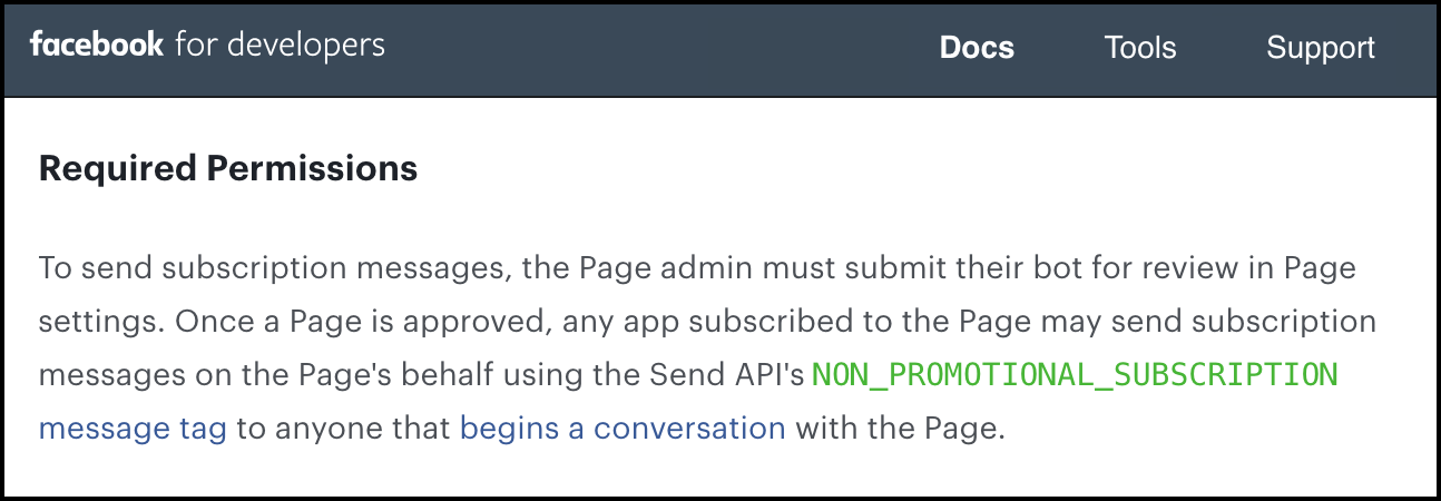 page-level-facebook-subscription-messaging-permissions