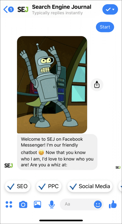 sej support chatbot