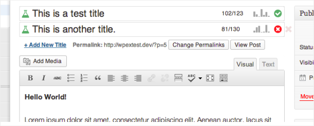 WordPress Marketing Automation Plugin: Title Experiments