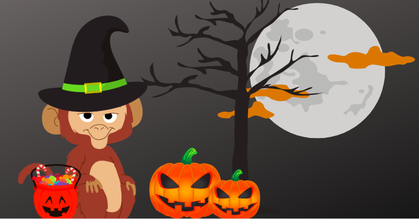 Halloween Chatbots: Trick or Treating Monkey