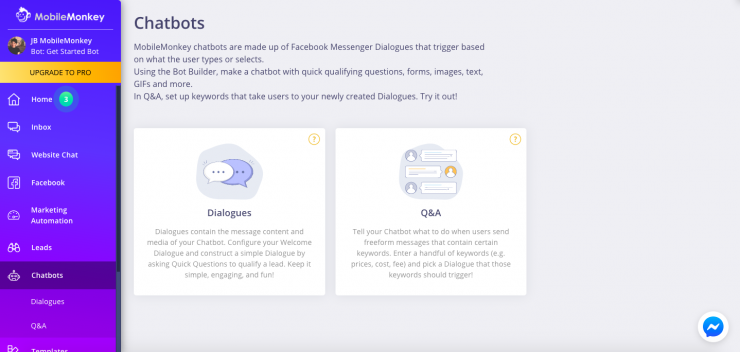 How to build a bot for business: Dialogues or Q and A