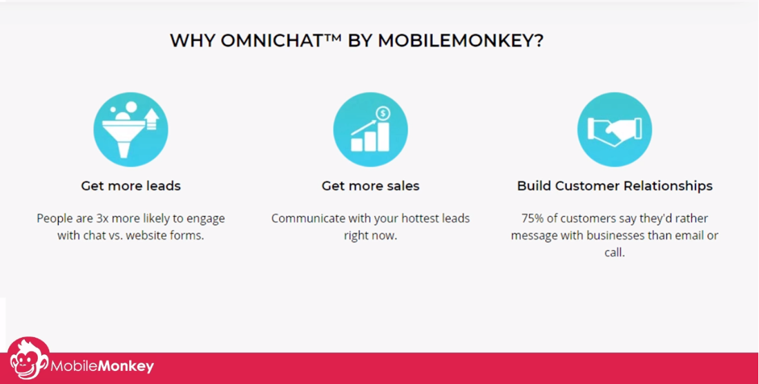 chat marketing automation: win more leads, get more sales, and build customer relationships with omnichat
