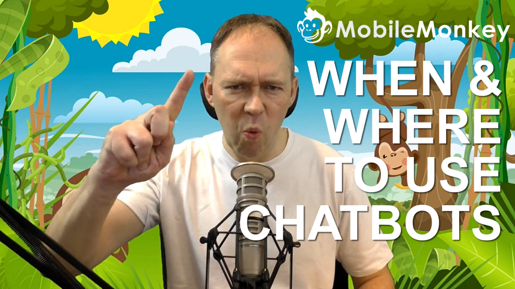 When and Where to Use Chatbots