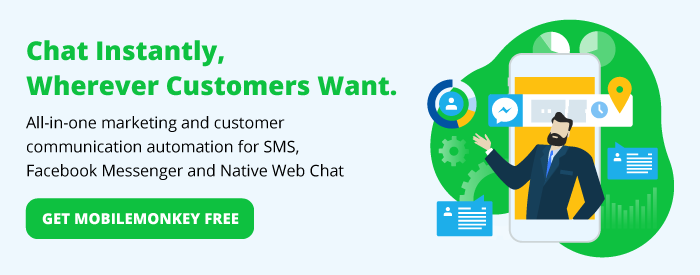 get MobileMonkey chatbot software for free
