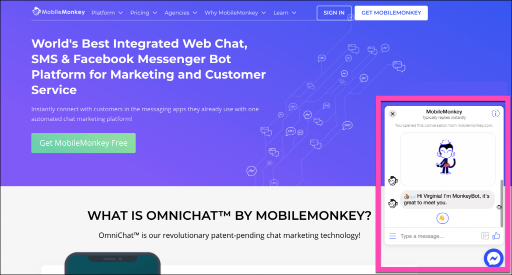 advanced chatbot builder for messenger