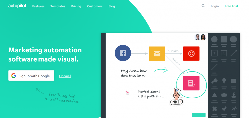 visual marketing automation for agencies - onboarding and journey mapping