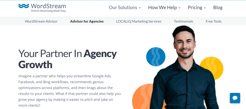 pay per click (PPC) management software - WordStream for agencies