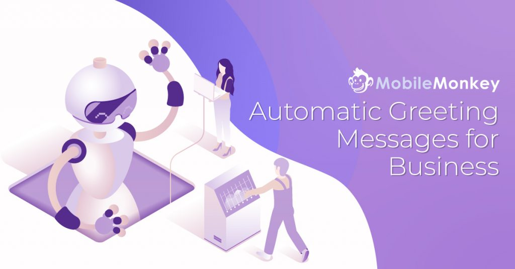 automatic greeting message for business
