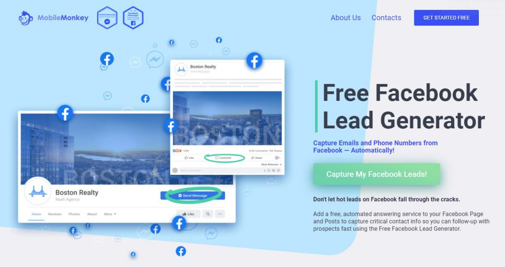 Facebook Messenger hacks: Free Lead Generator