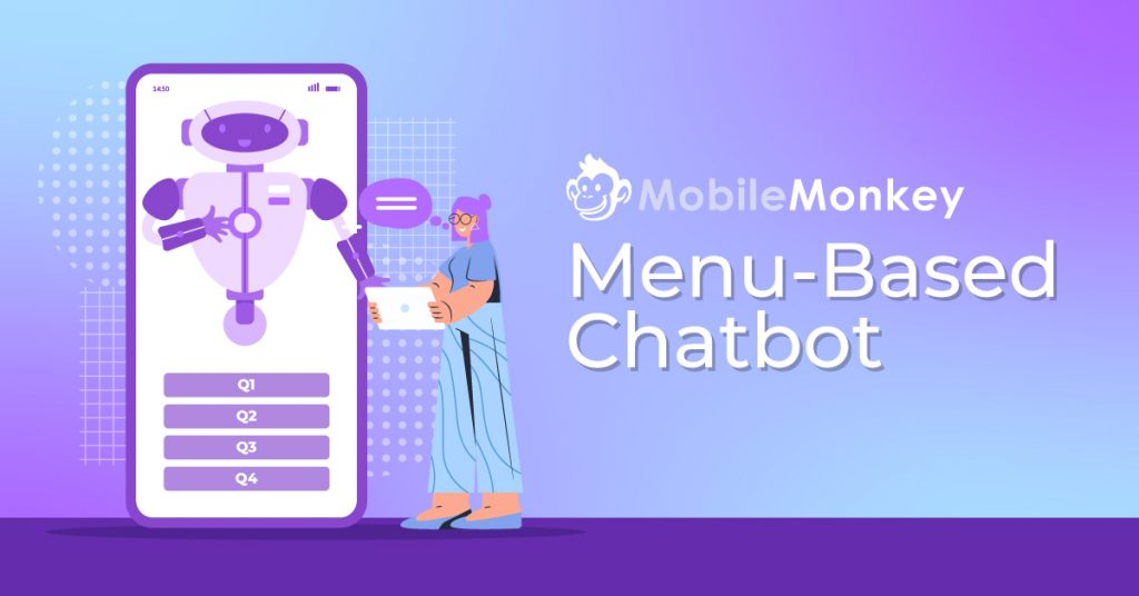 menu-based chatbot