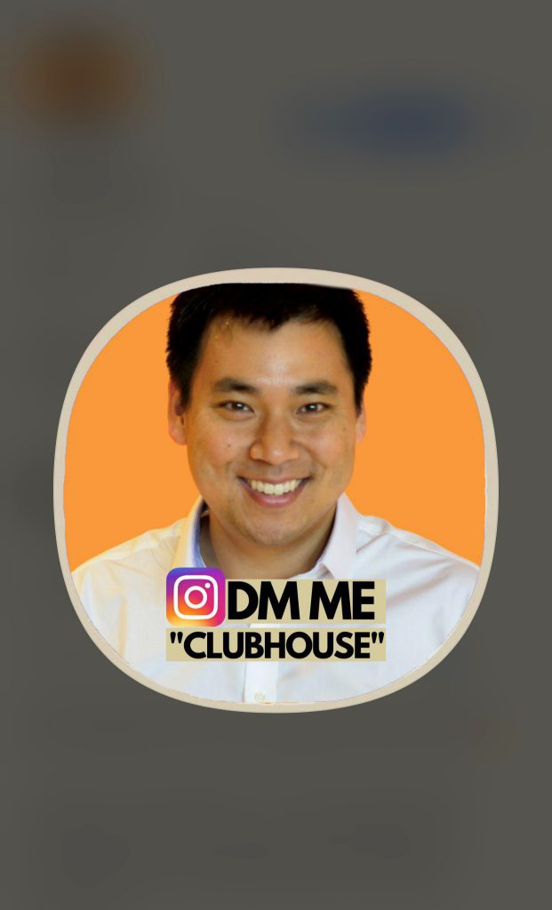 Add a call to action in your Clubhouse profile image.