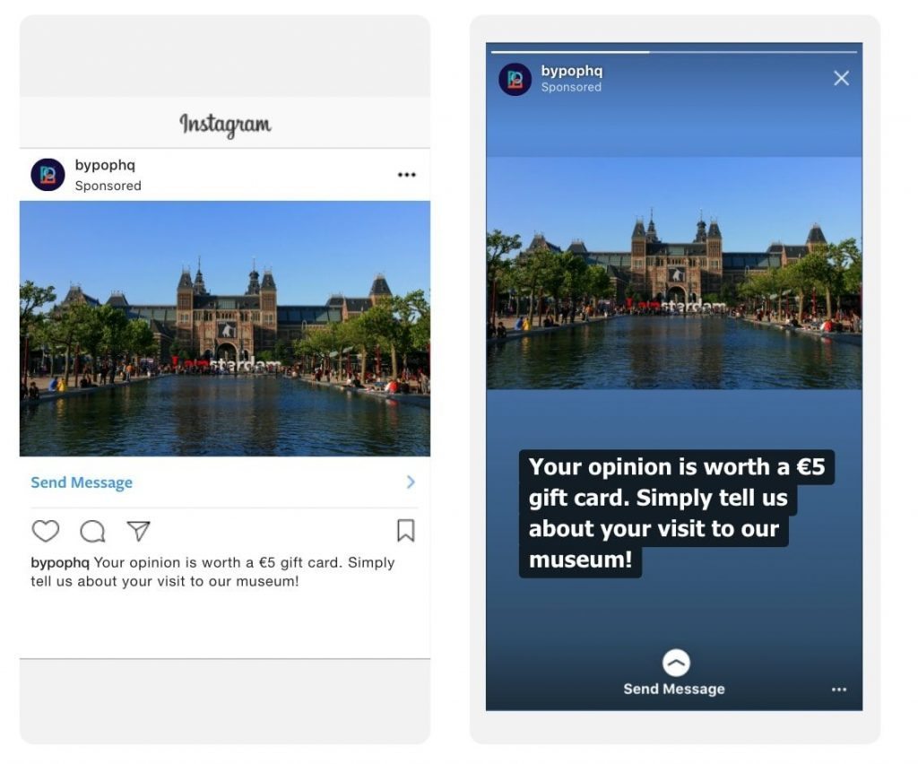 Click to Instagram Direct Ad Example 4
