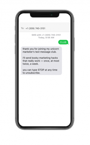 sms tools for keyword opt-in